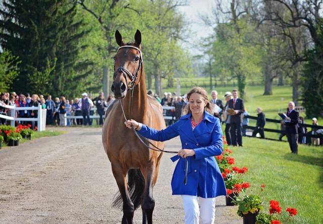 Lynn Symansky and Donner. Photo by Jenni Autry.