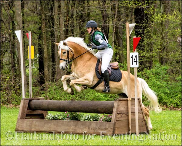 Winners of the Beginner Novice Rider C division: Susan Mallery and Ayel Yes. Photo by Joan Davis/Flatlands Foto.