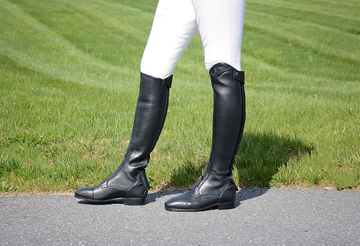 product review medici tall boots from tredstep ireland eventing