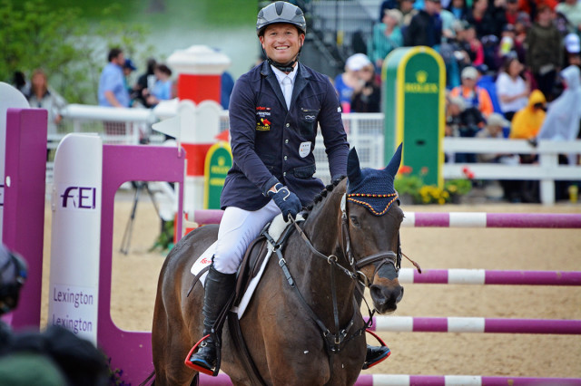 Michael Jung and fischerRocana FST. Photo by Jenni Autry.