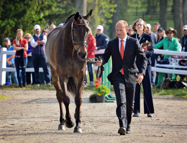 Michael Jung and fischerRocana FST are ready to defend their title. Photo by Jenni Autry.
