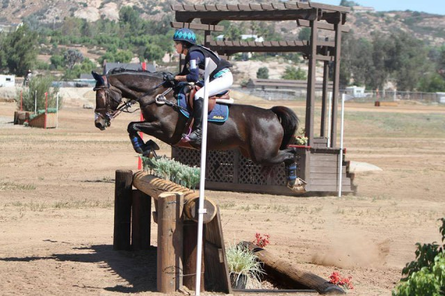 Nicole Carroll and Carolina PCH at Copper Meadows. Photo courtesy of Captured Moment Photography.