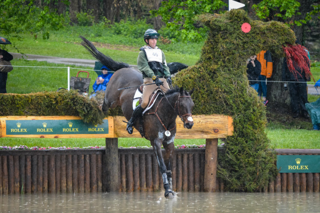 Ryan Wood and Fernhill Classic. Photo by Leslie Threlkeld.
