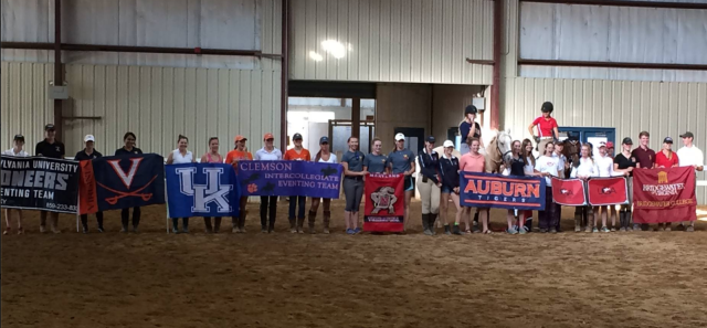 Photo courtesy of the Clemson Eventing Team.