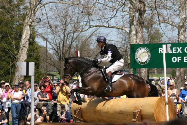 William Fox-Pitt and Bay My Hero. Photo by Joan Porter Jannaman