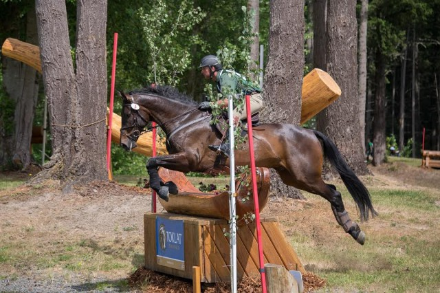 Aspen Farms CIC2* winners Marc Grandia and Indio BMW. Courtesy of Jo Arlow Photography.