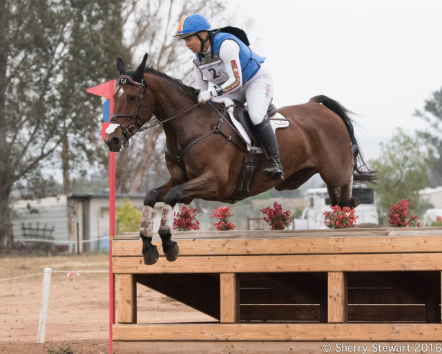 Heather Morris wins the CIC3* on Charlie Tango at Copper Meadows. Photo by Sherry Stewart.