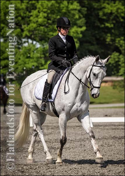 Winners of the Training Horse division, Denise Goyea and Revelation. Photo by Joan Davis/ Flatlandsfoto.