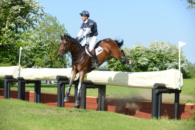 William Fox-Pitt and Little Fire. Photo by Prime Photography for Tattersalls.