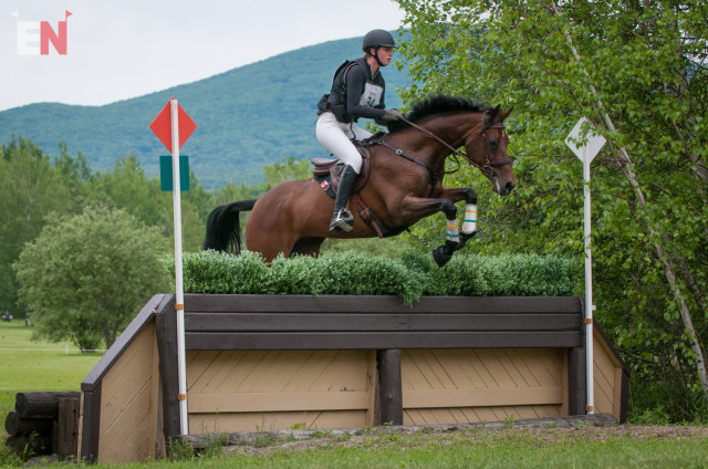 Ruairi Smith and Fernhill Gucci. Photo by Leslie Threlkeld.