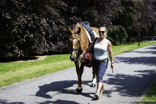 Back to Business and super groom Caz Hewer. Photo by Libby Law Photography.