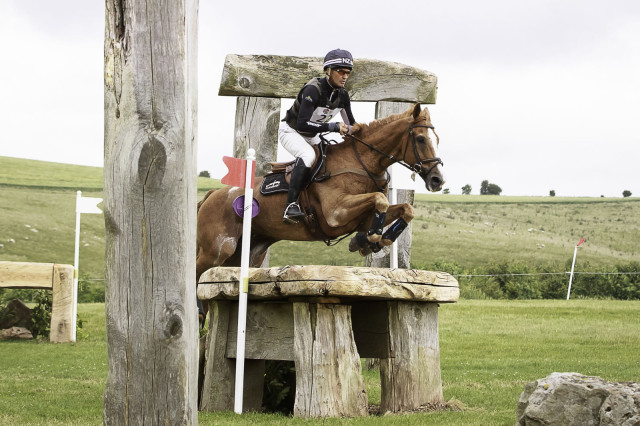 Andrew Nicholson and Nereo competing in the Barbury leg of ERM. Photo by Libby Law Photography.