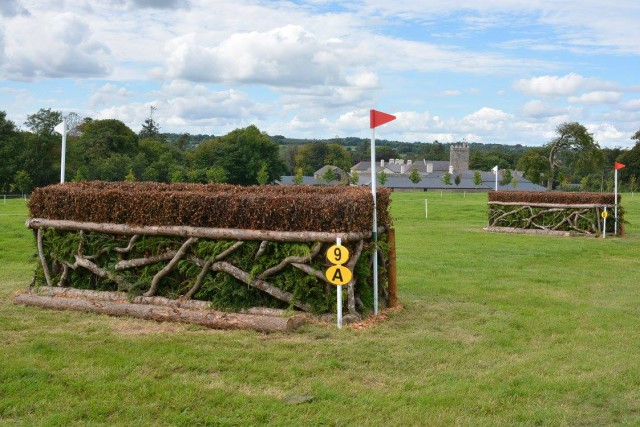 Can you spot the Drishane Castle tower? Photo © Millstreet International Horse Trials.
