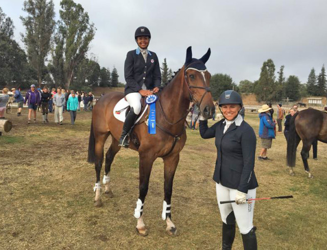 Kaylawna Smith and Fleur de Lis with Heather Morris. Photo courtesy of Heather Morris.
