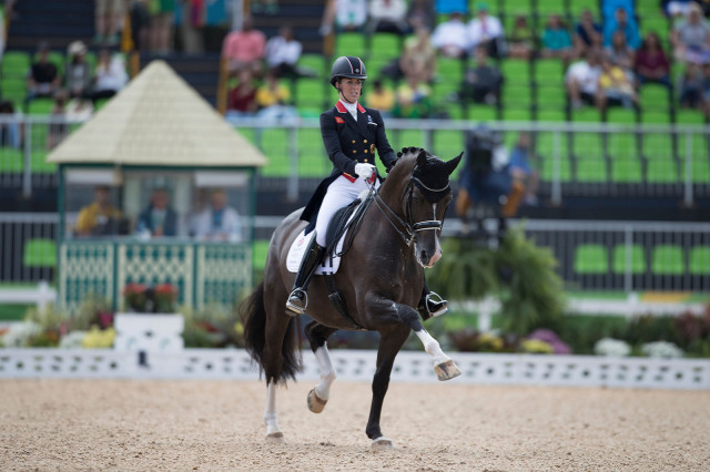 Charlotte Dujardin (GBR) and Valegro. Photo: Hippo Foto/Dirk Caremans/FEI.