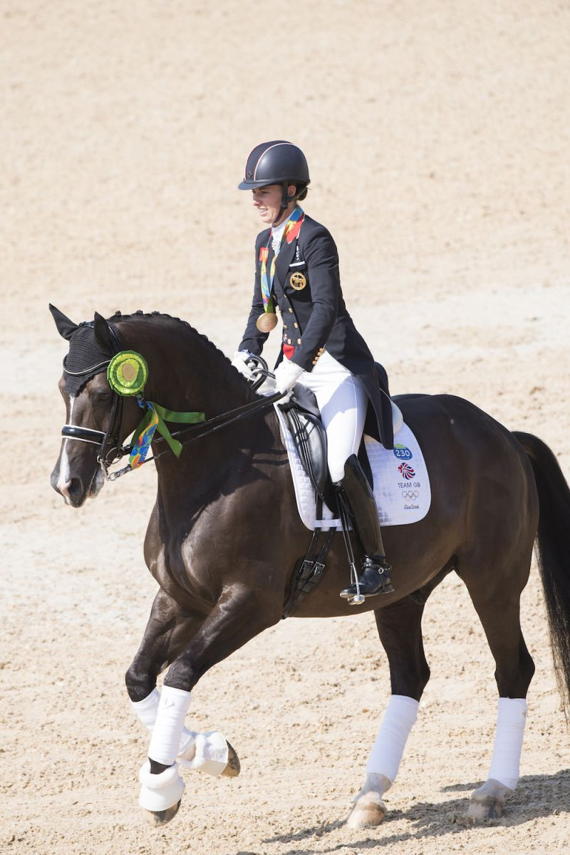 Charlotte Dujardin and Valegro (GBR). Photo by Richard Juillart/FEI.