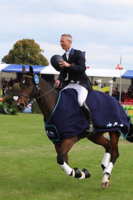 Winning the 2015 Blenheim Palace CCI3*: Part of Clark Montgomery and Loughan Glen's long term strategy to prepare for the Rio Olympic Games