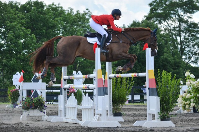 Sinead Halpin and Manoir de Carneville. Photo by Miranda Akins/Photography In Stride.