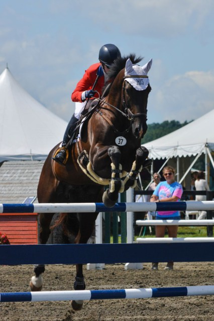 Kim Severson and Cooley Cross Border. Photo by Miranda Akins/Photography In Stride.