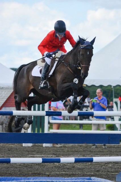 Kim Severson and Fernhill Fearless. Photo by Miranda Akins/Photography In Stride.