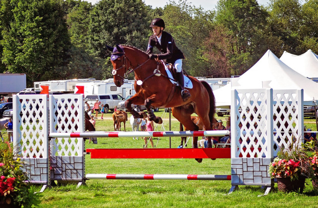 Michael Willham and Fernhill Cayenne at Richland. Photo by Renea Willham.