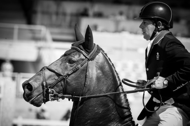 Nick Skelton and Big Star (GBR). Photo: Eric Knoll/FEI.