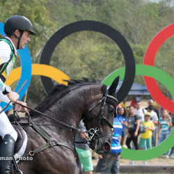 Chris Burton and Santano II representing Australia at the 2016 Rio Olympic Games. Photo by Shannon Brinkman Photography.