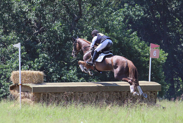 Marilyn Little and RF Demeter. Photo by Alissa Norman/Fair Hill International.