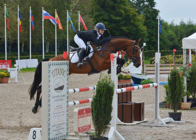 Click over to Millbrook's Facebook page for photos from the event. Photo © Millstreet International Horse Trials.