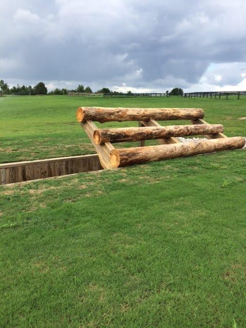 The new elephant trap on the Advance course. Photo courtesy of Stable View.