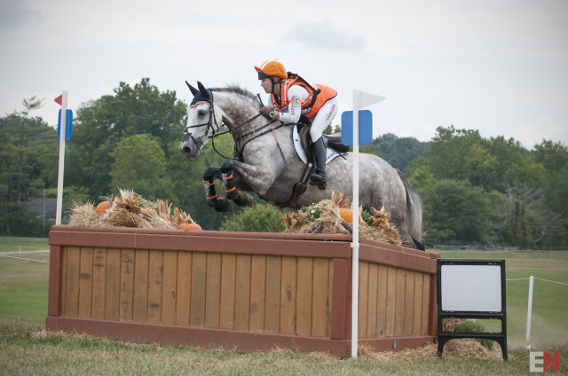 Sharon White and Cooley On Show. Photo by Leslie Threlkeld.