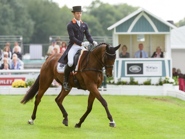Chris Burton and Nobilis 18 at Burghley in 2016. Photo by Nico Morgan Photography.