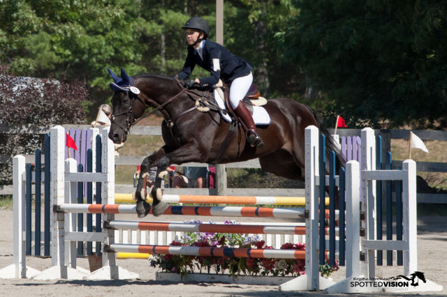 Emily Finnegan and Alla Breeza. Photo by Krystie Vrooman/ Spotted Vision Photography.