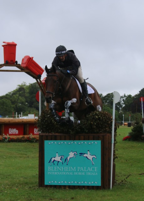 Sir Mark Todd and Obos Columbus Blenheim Palace CCI3* XC Photo by Samantha Clark