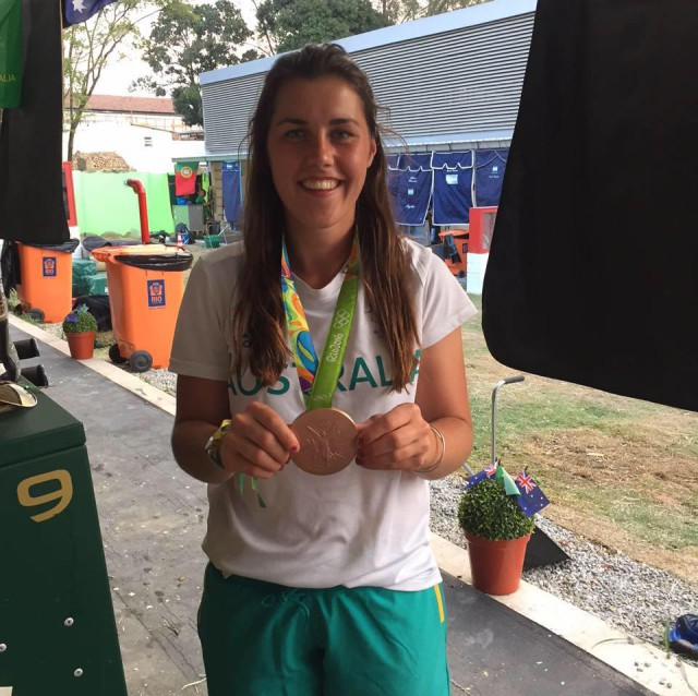 Sam Griffiths' team bronze medal from Rio 2016. Credit Griffiths Eventing Team