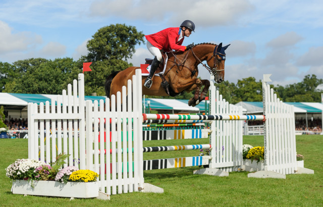 Phillip Dutton and Fernhill Fugitive finish 18th at the Land Rover Burghley Horse Trials 2016