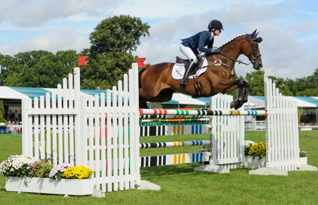 Holly Payne-Caravella and Never Outfoxed complete The Land Rover Burghley Horse Trials 2016
