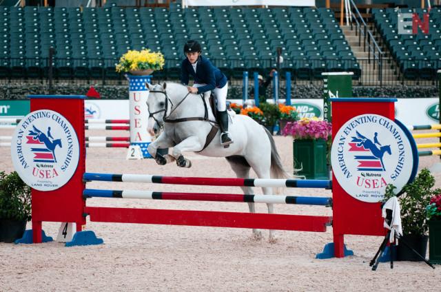 Savannah Blackstock and The Unicorn. Photo by Leslie Threlkeld.
