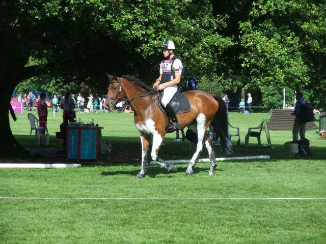 Awareness and support for eventing was extensive for Rio. Phot by Kathy Carter