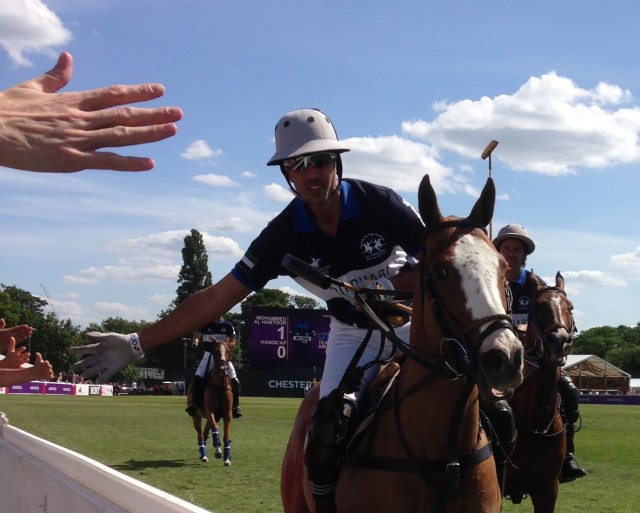 Polo pre-dates all other equestrian sports and covets Olympic inclusion. Photo by Kathy Carter.