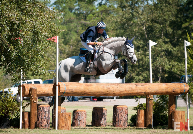 Boyd Martin and Welcome Shadow. Photo by Leslie Threlkeld.