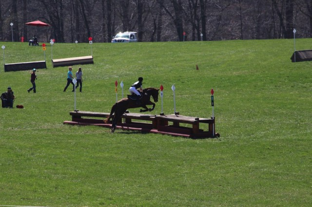 Brigid Thompson riding Warren. Photo courtesy of Ella Groner.