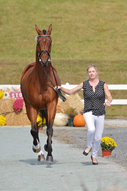 Holly Payne Caravella and Bruisyard Hall. Photo by Jenni Autry.