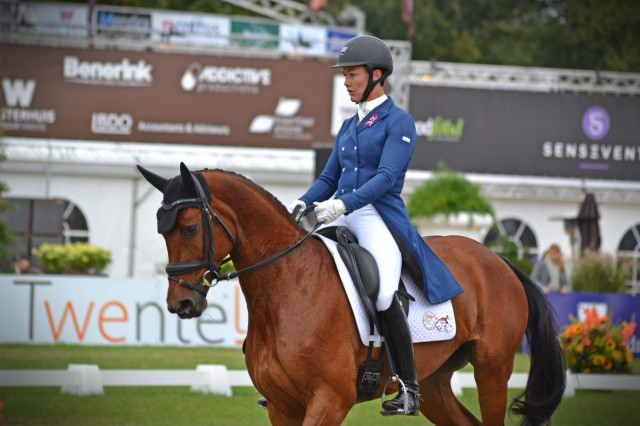 Tamie Smith and Twizted Syster at Boekelo. Photo by Leslie Wylie.