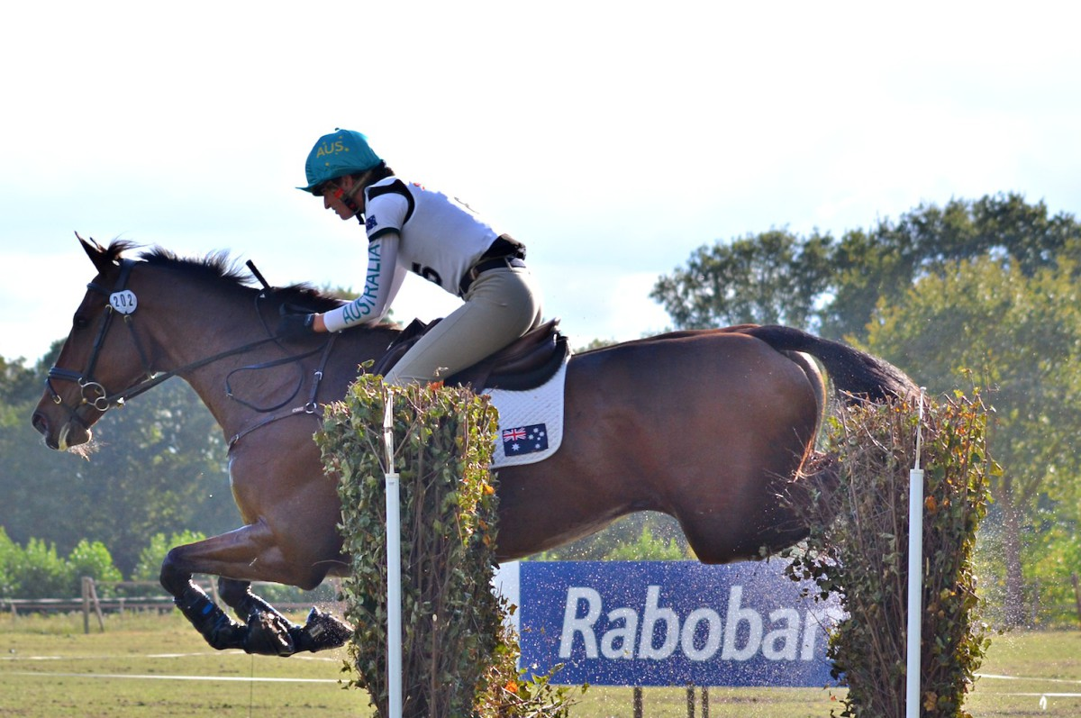 Emma Dougall and Fernhill Tabasco (AUS). Photo by Leslie Wylie.