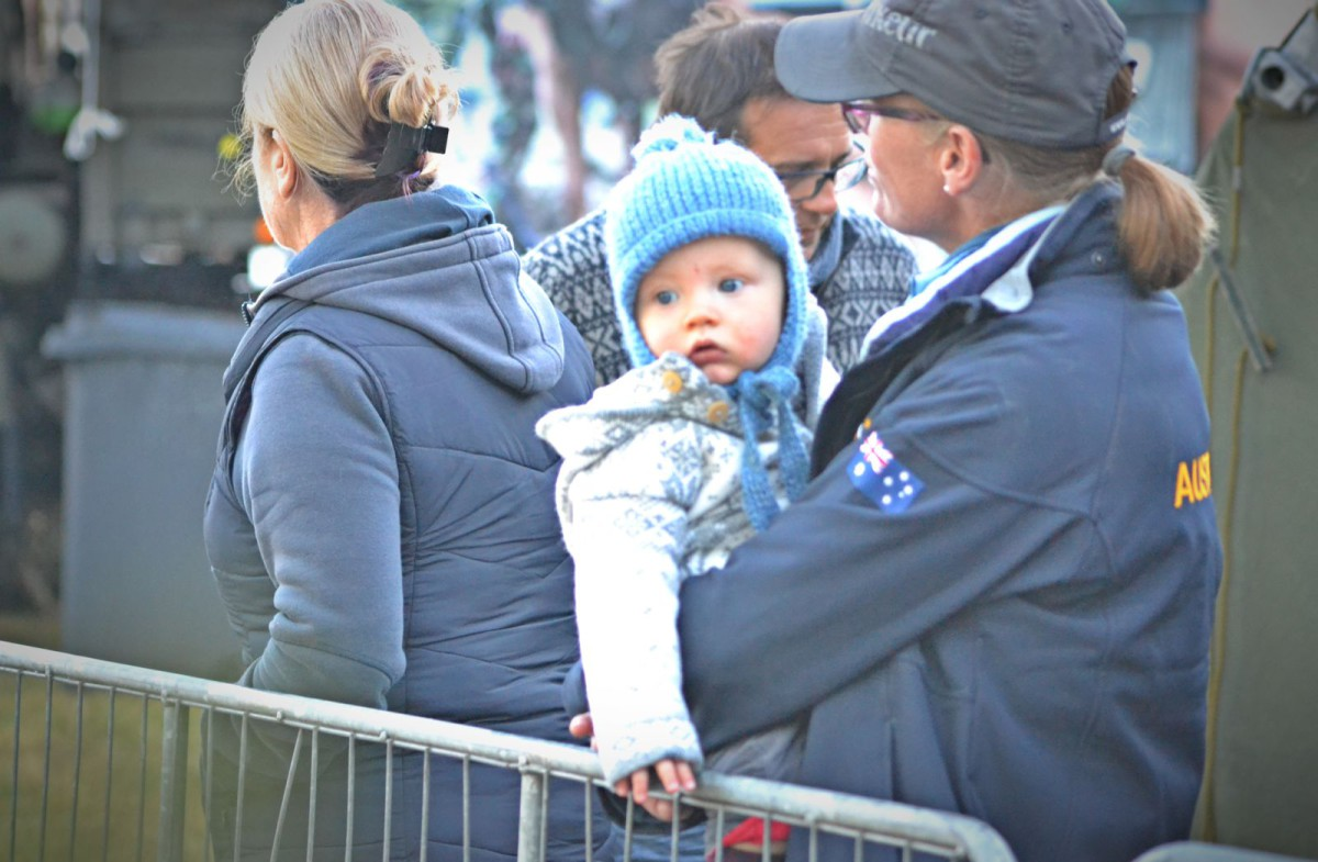 And also because bundled-up babies are stinking adorable. Photo by Leslie Wylie.