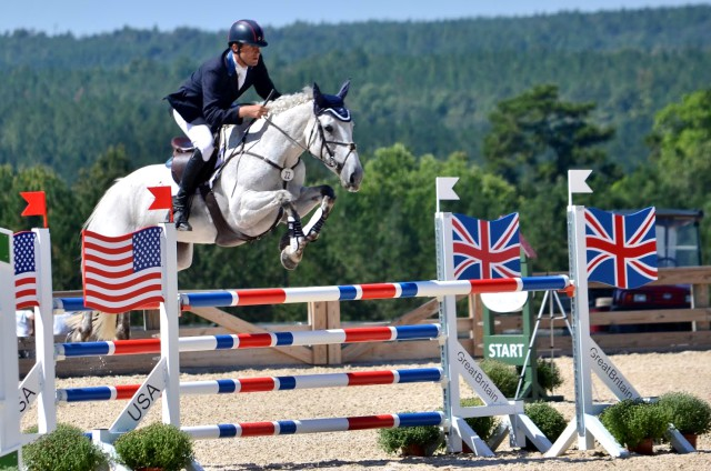 Boyd Martin and Welcome Shadow. Photo by Lisa Thomas, Mid-Atlantic Equestrian.