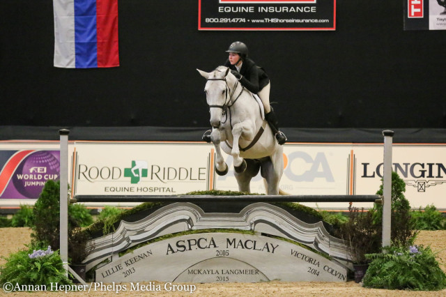 Hunter Holloway and C'est la Vie. Photo by Annan Hepner/Phelps Media Group