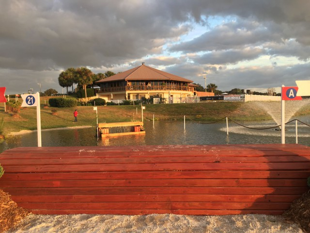 The stage is set for the inaugural Ocala Jockey Club International! Photo by Jessie Mazzoni.