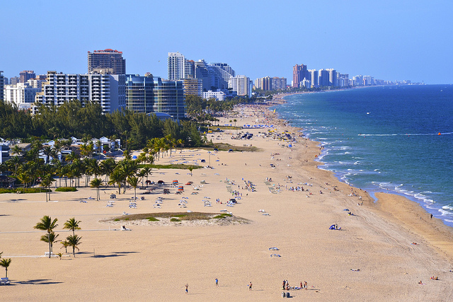 Welcome to Fort Lauderdale! Photo by Daniel Dudek/Creative Commons.